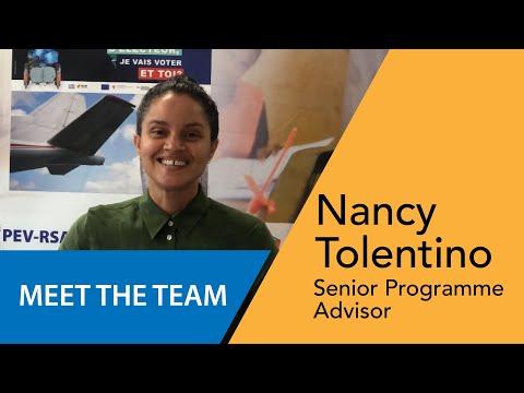 Nancy Tolentino - Senior Programme Advisor