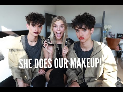 ALISSA DOES OUR MAKEUP!