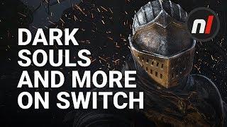 Nintendo Direct Mini: Dark Souls on Switch! Donkey Kong! Mario Odyssey Update!