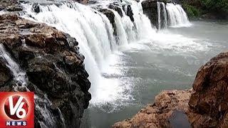 Time to Queue Up at Bogatha Waterfalls..