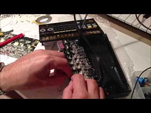 Korg Volca Beats - Demonstration of my snare mod / hack !!