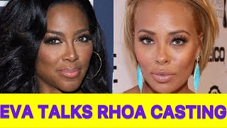 HOT TOPIC! Eva Marcille Talks Kenya Moore, Marlo Hampton, Phaedra Parks and #RHOA Casting
