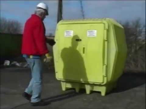 BARR Spill Control Hazard Hut