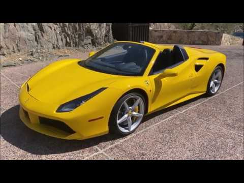 video 2018 Ferrari 488 Spider