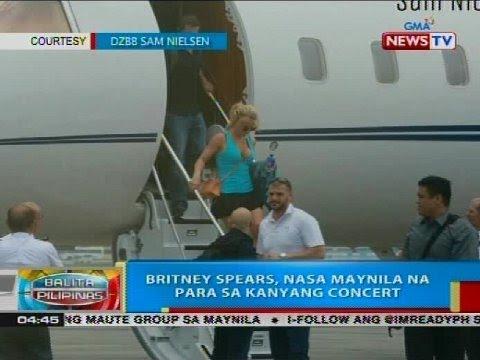 Britney Spears, nasa Maynila na para sa kanyang concert