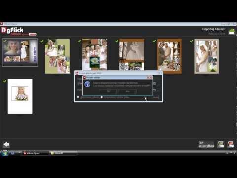 Eksport projektów do plików JPEG i PDF