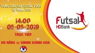 FULL| Đà Nẵng - Sanna KH | VCK Futsal VĐQG HD Bank 2019 | VFF Channel