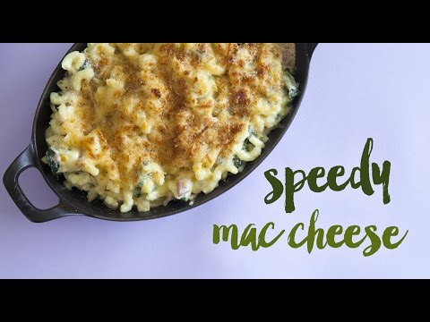 Speedy Macaroni Cheese with Cauliflower