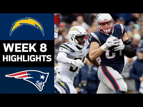 Chargers vs. Patriots   NFL Week 8 Game Highlights