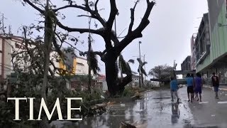 Typhoon Mangkhut's Death Toll Is At Least 66 As It Barrels Into China   TIME