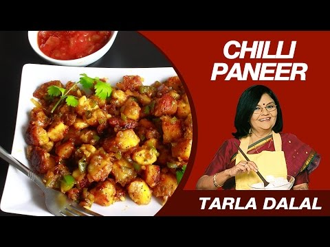 Chilli Paneer Dry Starter Recipe by MasterChef Tarla Dalal ...