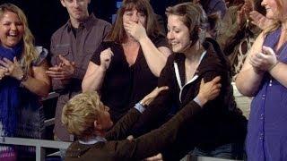 Ellen Meets a Fan