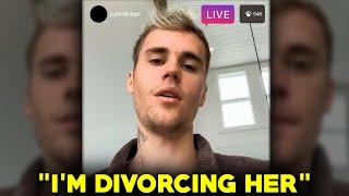 """I'm Divorcing Her"" Justin Bieber Reveals He Wants To Divorce Hailey Bieber!"