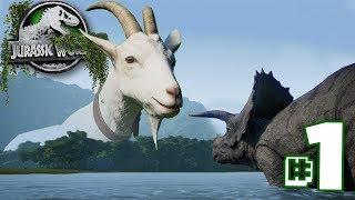 Welcome to Goat Park! | The Dinosaur Preserve - Part 1 | Jurassic World Evolution