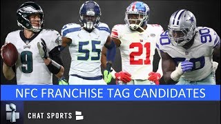 NFL Franchise Tag: Candidates For NFC Feat. Nick Foles, Frank Clark & DeMarcus Lawrence