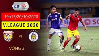 Trực tiếp:🔴 bóng đá Đà Nẵng Fc vs SL Nghệ An và trận Hà Nội Fc vs Hà Tĩnh Fc 🇻🇳 ngày20/10/2020/.