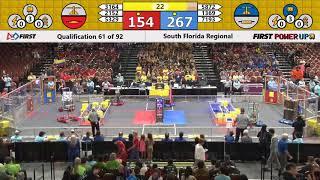 Match 61 South Florida Regional 2018