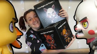 Opening 2 Giant FNaF Mystery Boxes