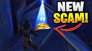 *NEW SCAM* Pyramid Death Trap Scam! Scammer Gets Exposed In Fortnite Save The World