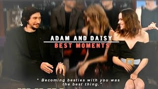 Adam Driver and Daisy Ridley | Best Moments