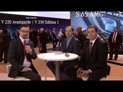 Expert Talk | S-Klasse Coupé - Genfer Auto-Salon 2014