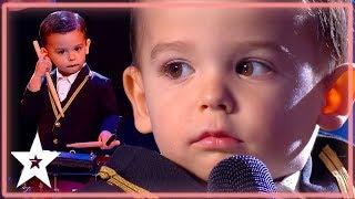 Cutest Toddler Gets GOLDEN BUZZER! | Kids Got Talent