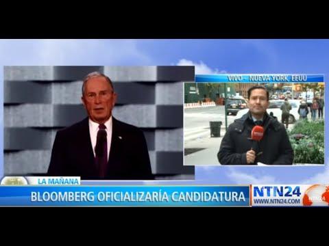 ¿El millonario Michael Bloomberg será candidato presidencial en EEUU 2020?