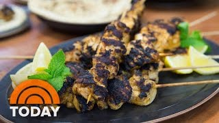 Memorial Day Recipes: Mediterranean-Spiced Chicken Kebabs | TODAY