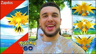 CATCHING THE BEST SHINY LEGENDARY POKÉMON! (Pokémon GO Zapdos Day)