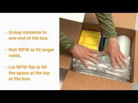 Wonderfil™ Wrap Inflatable Packaging