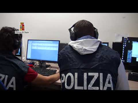 Polizia, il video dell'Operazione Game Over
