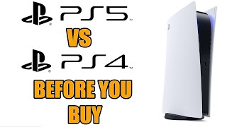 PS5 vs PS4 - 15 BIGGEST Differences You Need To Know Before You Buy PS5