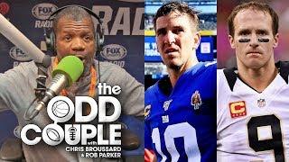 I'd Take Eli Manning's Career OVER Drew Brees' - Rob Parker
