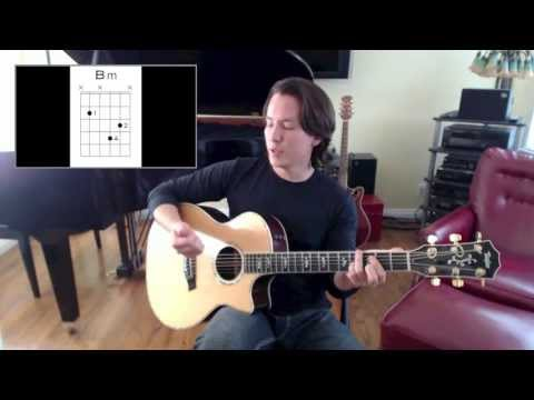 How to Play Too Close by Alex Clare on the Guitar