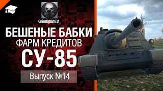 Бешеные бабки №14: фарм на СУ-85  от GrimOptimist [World of Tanks]