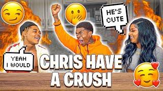 CHRIS HAS A CRUSH ON..❤️