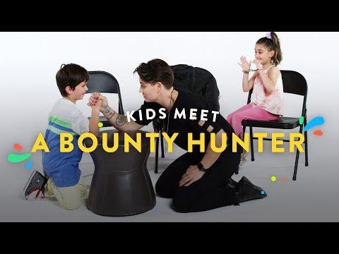 Kids Meet a Bounty Hunter | Kids Meet | HiHo Kids