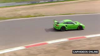 The new 2019 Porsche 911 GT3 RS driving footage - Car Videos Online