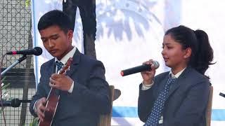 Eh kancha by Hemang Shrestha & Lalana Chimariya, Singing Competition 2074 Global College of Managem