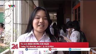 Nhìn lại ngày đầu tiên kỳ thi vào lớp 10 tại Hà Nội và TP HCM | VTV24
