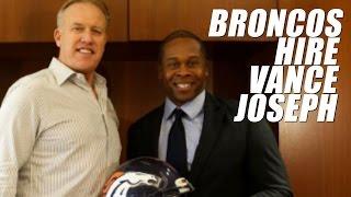 Denver Broncos Hire Vance Joseph as Head Coach