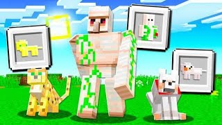 How to TURN Any MOB Into An ITEM in Minecraft!