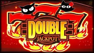 Spinferno 🔥 Double Jackpot Blazing 7s 🔥 The Slot Cats 🎰😸😺