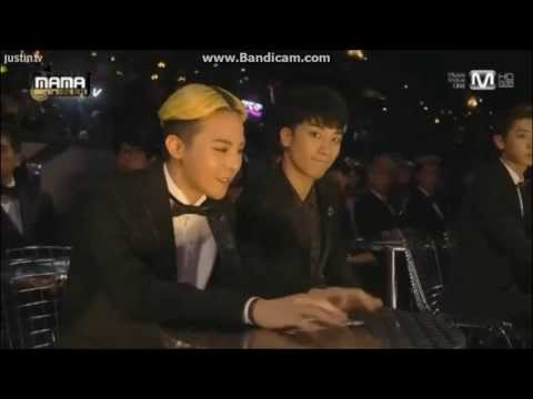 131122 GD TOP Seungri reaction to Troublemaker