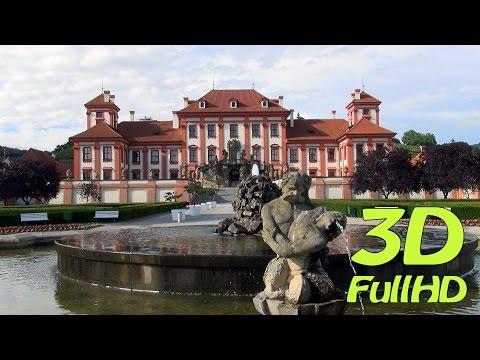 [3D] Troja Palace, Prague, Czech Republic / Zámek Troja, Praha, Česko / Pałac Trojski, Praga, Czechy