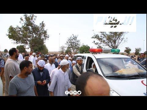 جنازة محمد زحل أحد أبرز مؤسسي الحركة الاسلامية في المغرب
