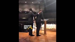 Sean Diddy Combs Shares Emotional Speech At Kim Porter Funeral (LIVE RECORDING)