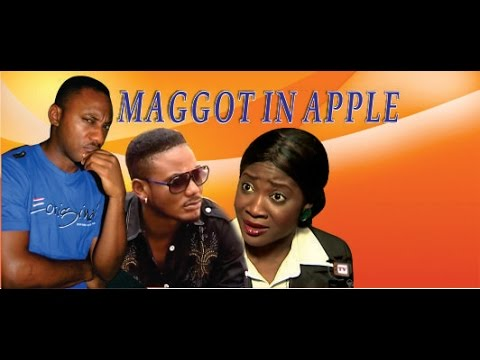 Maggot In Apple 1