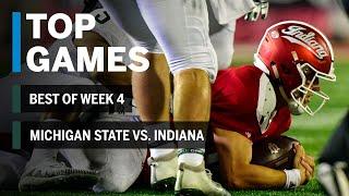 Top Games of 2018: Week 4 | Michigan State Spartans vs. Indiana Hoosiers | B1G Football