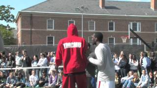 UNC basketball plays pick-up at Cobb